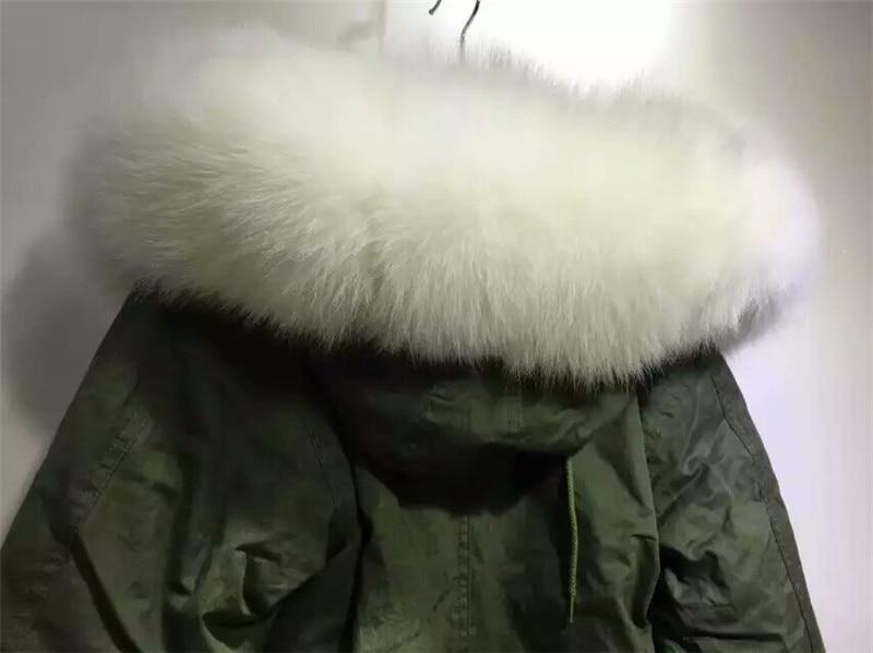 Özelleştirilmiş yeni stil kış kalın sıcak kürk - Bayan Giyimi - Fotoğraf 5