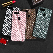 Case For Oppo F11 Pro Bling Flash Chip PC TPU Cover A59 F5 A73 F7 A5 A3S F9 Anti-kncok Covers Shell Back