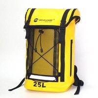 25L waterproof bag dry bag Storage Sack Bag For Canoe Kayak Rafting Drifting Outdoor Sport Swimming Bags Travel Kit Backpack