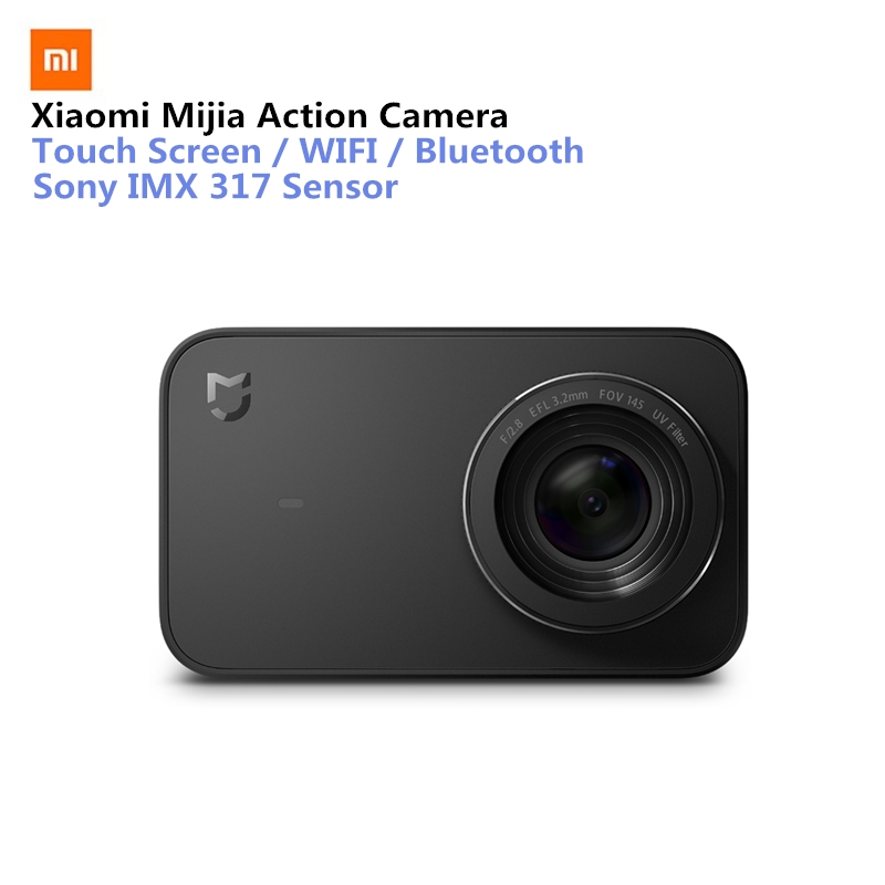 Xiaomi Mijia Mini cámara de acción deportiva 4 K Ramcorder Video grabación WiFi cámaras digitales 145 Wide Anglen App Control