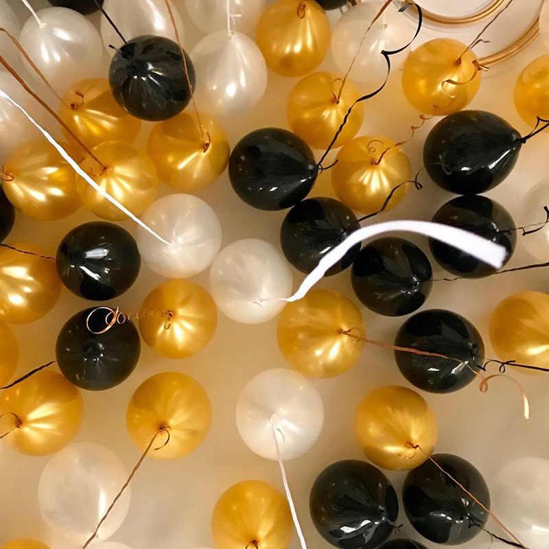 10 pièces multicolore rouge noir Rose perle ballons en latex gonflables décorations de mariage ballon décorations de fête d'anniversaire kids.6