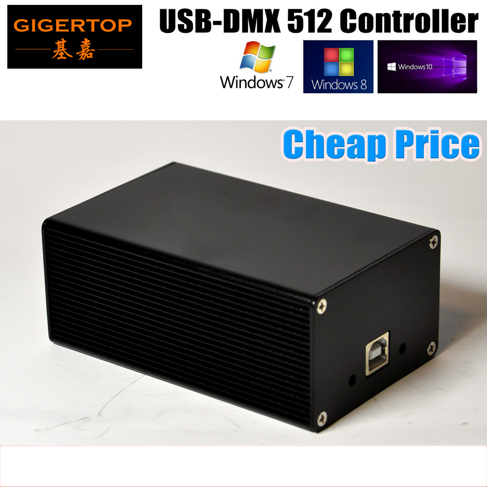 China DMX512 Stage Light Controller Box HD512 Universal USB DMX Dongle 512 Channels PC / SD Offline Mode Martin Lightjockey dmx512 digital display 24ch dmx address controller dc5v 24v each ch max 3a 8 groups rgb controller