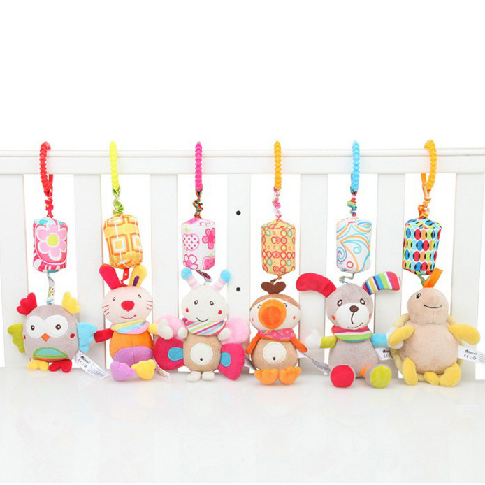 0 12 Months Baby Toy Mobiles Rattles Baby Boy Girl Toys Oyuncak Bebek Baby Stroller Bed Toy Souvenirs Brinquedos Para Bebe