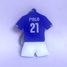 Soccerwe Soccer Star Classic Italy Pirlo Blue Kit Doll No. 21 Collection Decoration(China)
