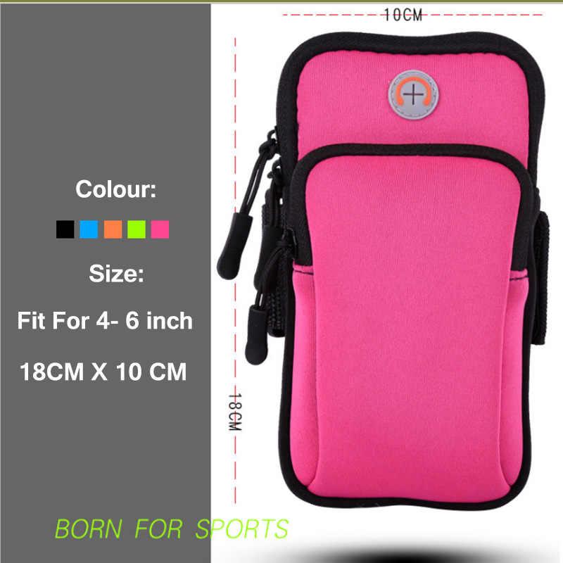 Pour Sony Xperia XZ F8331 Dual F8332 5.2 pouces étui étanche sac de sport en cours d'exécution support pour téléphone portable bras bande sac à main