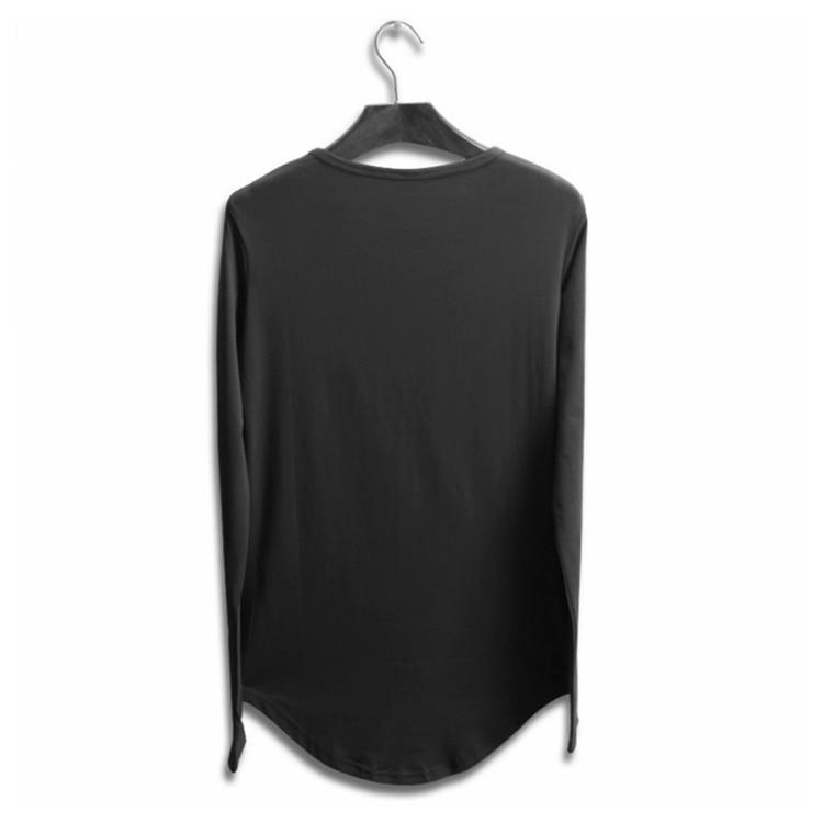 388831975a10f Liseaven hombres mandarín Collar Camiseta básica camiseta masculina Camiseta  de manga corta marca camisetas y Tops. M1 M1 M2 ...