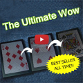 The Ultimate WOW 3.0 Updated Version Change Twice Ultimate Exchange Card Magic Tricks Magic Props Toys Stage Accessories 1 Pcs