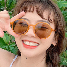MARC Vintage Round Sunglasses Women Classic Retro Summer Sun Glasses Female Male Brand