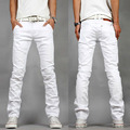 men jeans 2017 summer new mens jeans white slim fit Jeans men casual sexy skinny 28-40