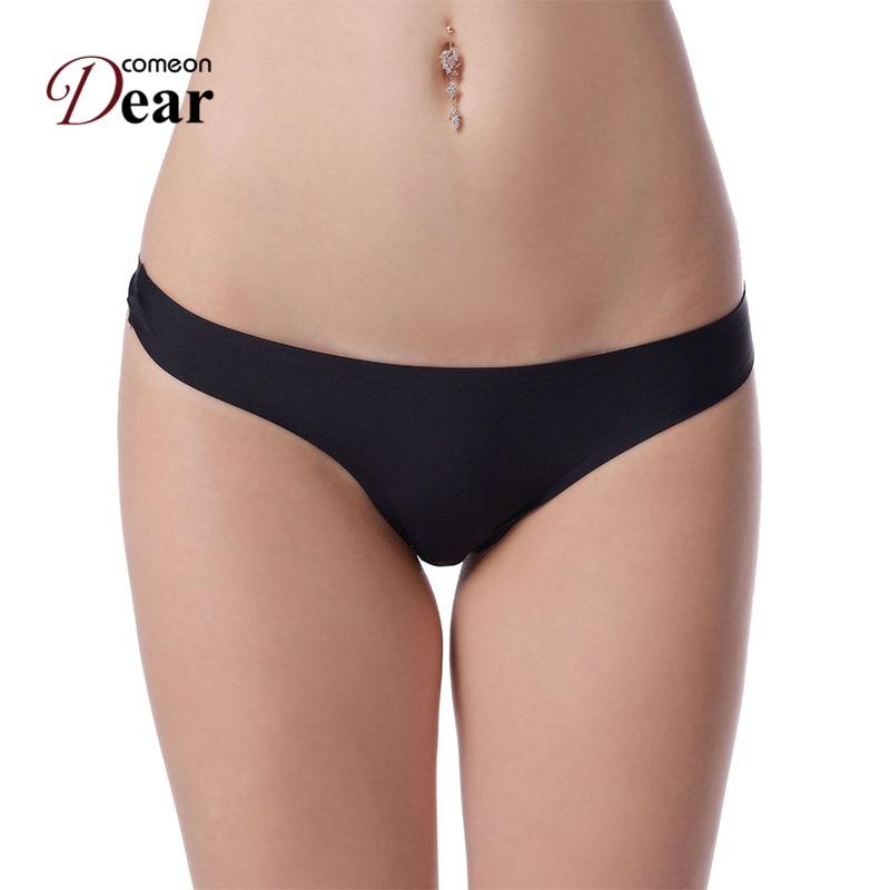 Comeondear Good Quality Sexy Seamless Panties Plus Size Women Underwear 6 Colors Beautiful -7126