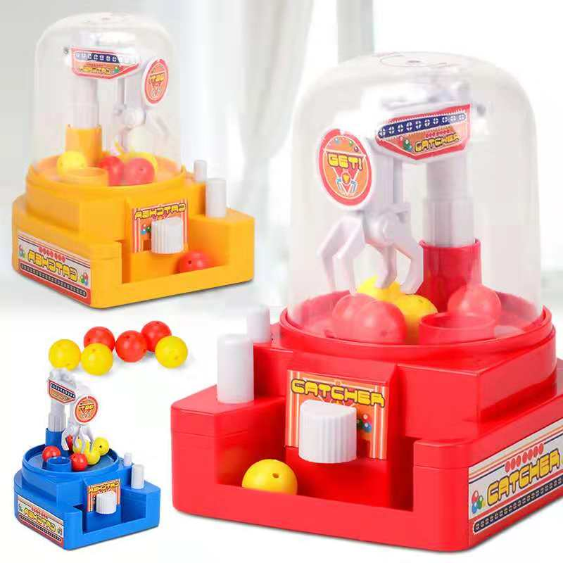 Mini Claw Arcade Crane candy catch game Children Doll machine education enlightenment Toys