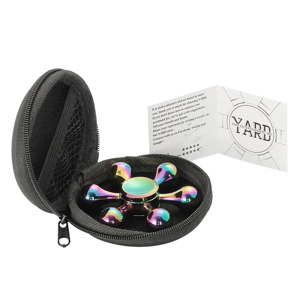 YARD Kolorowe Fidget Spinner Spinner Spinner Tęcza Ręcznie Spinner - Zabawki antystresowe - Zdjęcie 3