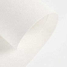 17 дюймов шириной 1 м длинный рулон образца водонепроницаемый хлопковый холст для струйной печати и полиэстер печати холст рулон