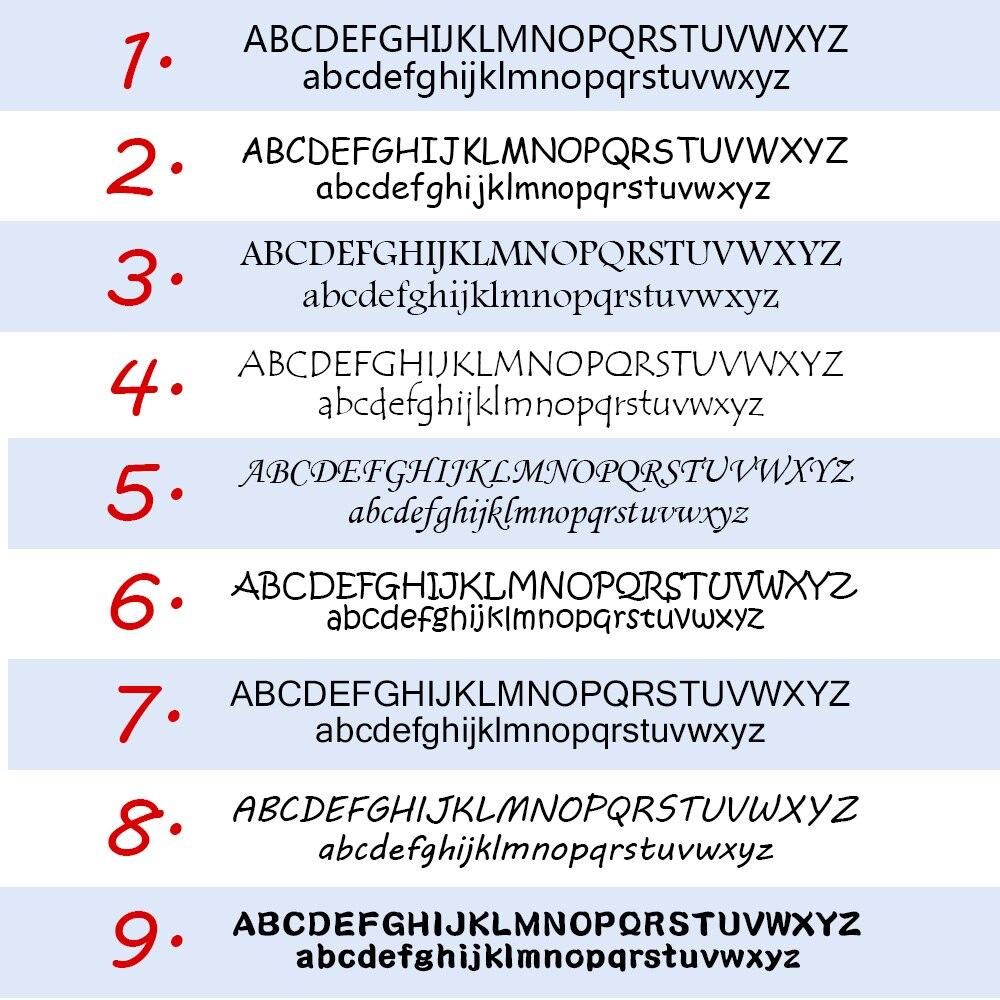 Купить с кэшбэком 108Pcs Personalized Name Stickers Waterproof Cartoon Bunny Pattern Customize Tag Sticker Children School Stationery Decals Label