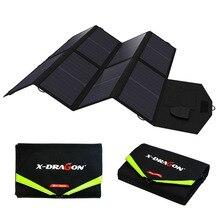 Зарядное устройство для ноутбука Зарядное устройство для телефона 40 Вт солнечное зарядное устройство Быстрая зарядка для мобильных телефонов планшеты ноутбуки 12 в автомобильный аккумулятор