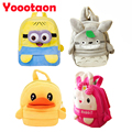 Big size Plush Backpacks toys Rabbit/Totoro/Yellow duck /Minions High-quality school Backpack for Children's gift Stuffed toy