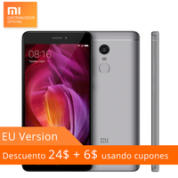 Global Version Xiaomi Redmi Note 4 Note4 4GB RAM 64GB ROM Mobile Phone Snapdragon 625 5.5