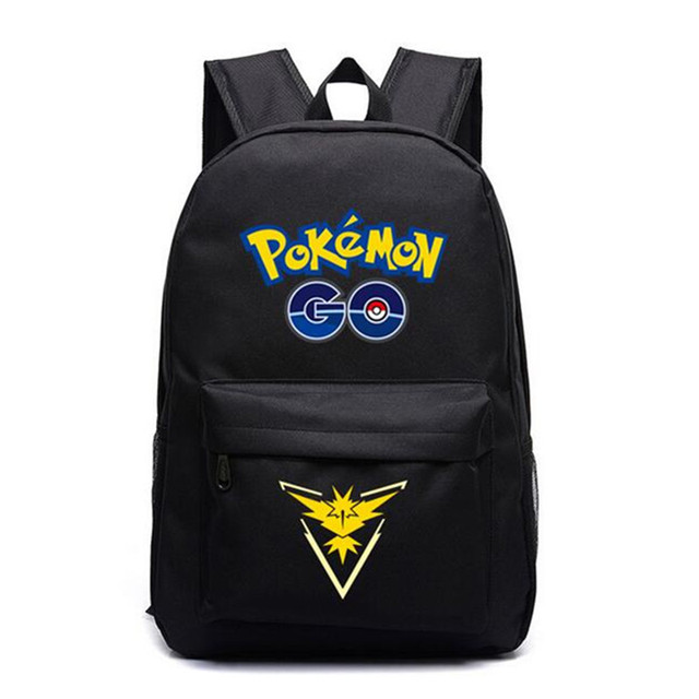 Pokemon Go School Bags for Teenagers Girls Boys Japanese Anime Galaxy  Backpack for Travel Women Casual Cartoon Shoulder Bags