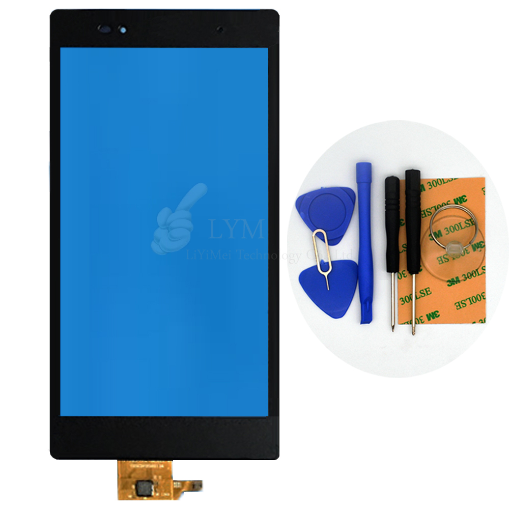 OGS Black TP for Sony Xperia Z Ultra XL39H XL39 6 44 Touch Screen Digitizer