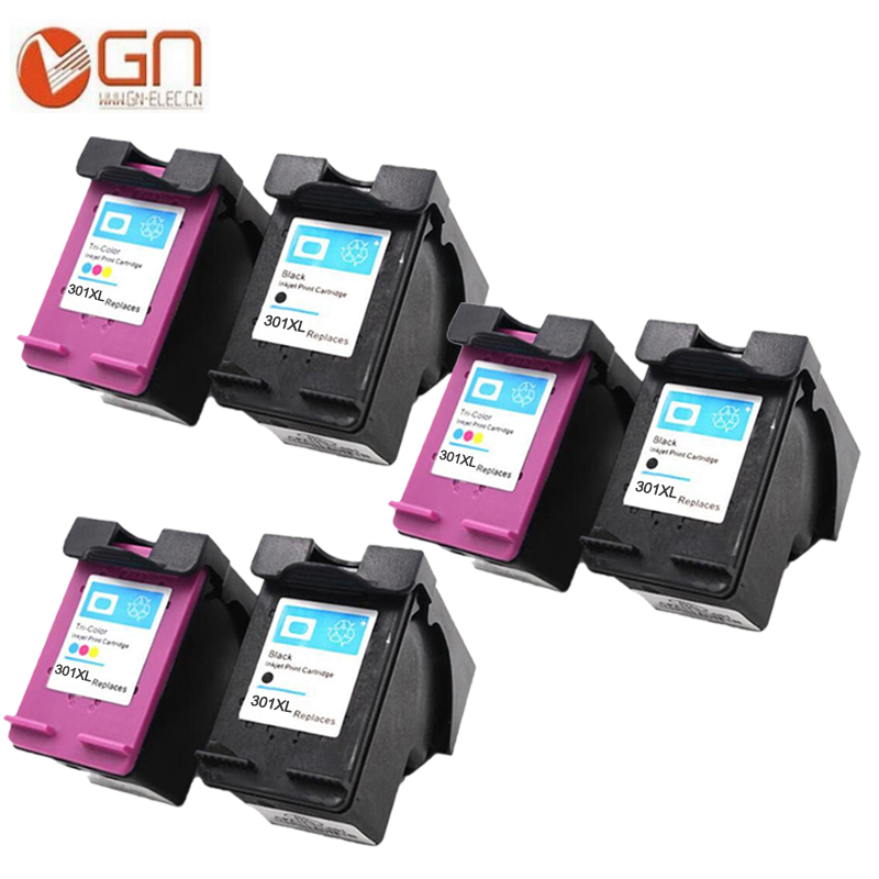 GN For HP 301XL Remanufactured Ink Cartridge High Yield for HP 3000 3050 3050se 1050A 2050A