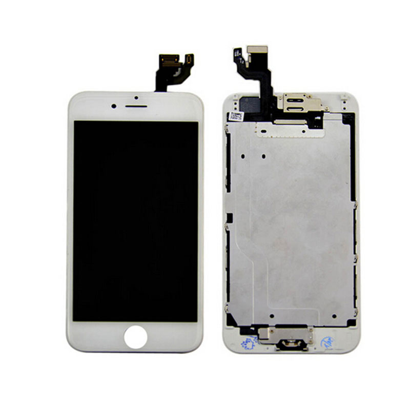 LCD Display Touch Screen Digitizer Full Assembly With Front Camera Home Button For Iphone 6 4.7