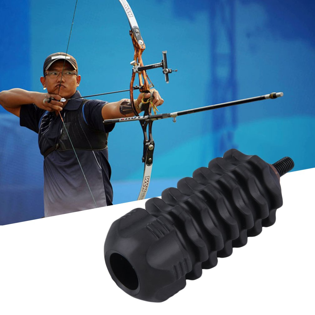 Hunting Arrows Archery Stabilize Compound Bow Stabilizer Rubber Accessories Compound Bow Stabilizer For Hunting Hot Sale