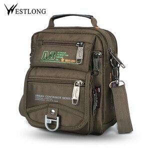 New 3705W Men Messenger Bags Casual Mult