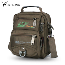 New 3705W Men Messenger Bags Casual Multifunction Small Trav