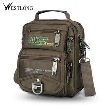 Nowy 3705W mężczyźni Messenger torby Casual wielofunkcyjne małe torby podróżne wodoodporny styl moda na ramię wojskowe torby Crossbody
