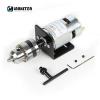 775 Motor DC24V 10000RPM Mini Hand Drill Press Dremel Electric Drill B12 Drill Chuck 1 5