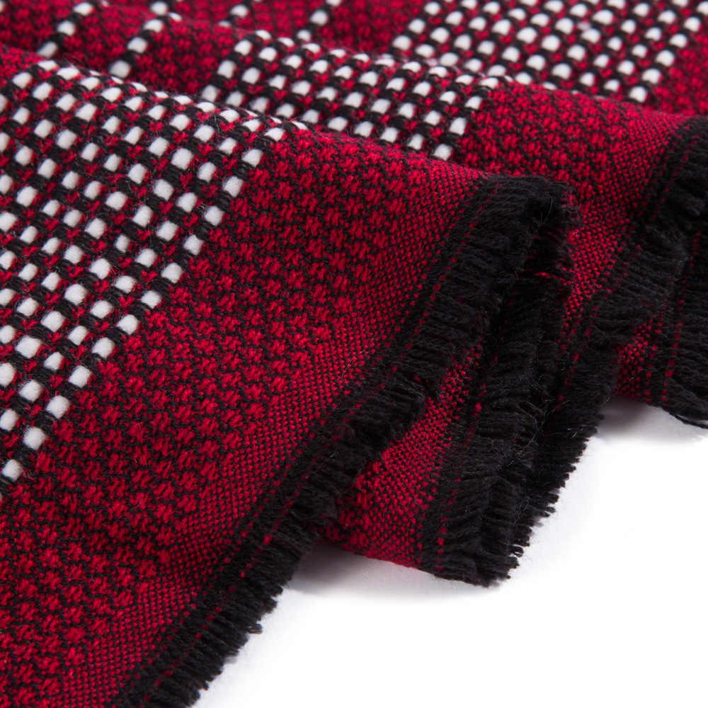 VIANOSI Coperta Calda Sciarpa Delle Donne Splendido Wrap Lungo Sciarpe Mujer Inverno Sciarpa di Marca Scialli e Sciarpe per Le Donne