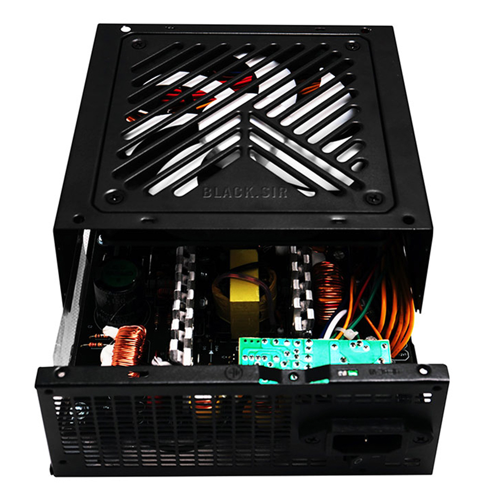 1STPLAYER CSB450V-BS Power Supply 450W Computer Power Supply Active PFC Desktop Gaming PSU 120MM Fan For Computer US/EU Plug