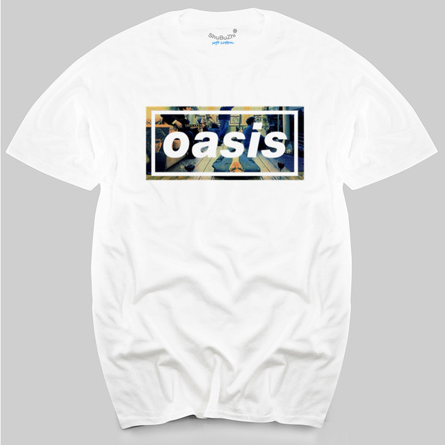 9b4e91d5d6cb New Mens Womens Definitely Maybe OASIS Cotton T-Shirt Liam Noel Gallagher  men's top tees
