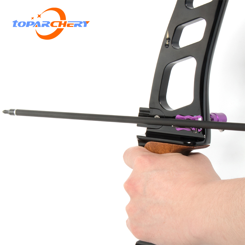 Toparchery Archery Cushion Plunger Magnesium Alloy Adjustable Right Hand Recurve Bow Hunting Shooting Accessories
