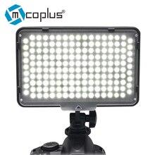 Cheap price Mcoplus LED-168 LED Video lamp Photography Light for Canon Nikon Pentax Panasonic Olympus & DV Camcorder Digital SLR Camera