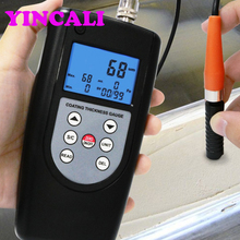 Fast shipping Coating Thickness Gauge Meter CM-1210B F&NF Type Coating Thickness Tester can Memory 99 Groups Data Range 0~2000um