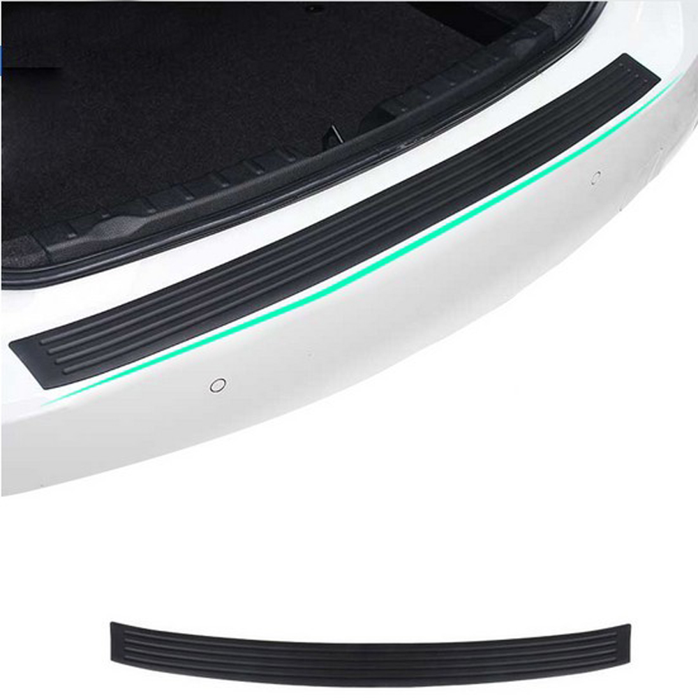 Generous Car Rubber Rear Guard Bumper Protector Trim Cover Car Sticker Plate For Lifan X60 Cebrium Solano New Celliya Smily Geely X7 Ec7 Jade White Exterior Accessories Automobiles & Motorcycles