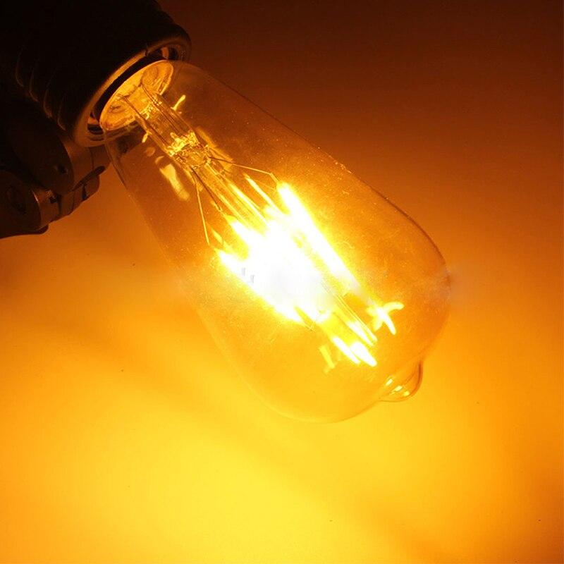 Lâmpadas Led e Tubos st64 edison vintage luz 4 Vida Média (hrs) : 50000h