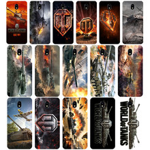 297WE world of tanks Soft Silicone Tpu Cover phone Case for Samsung j3 j5 j7 2015 2016 2017 j330 j2 j4 prime j4 j6 Plus 2018(China)