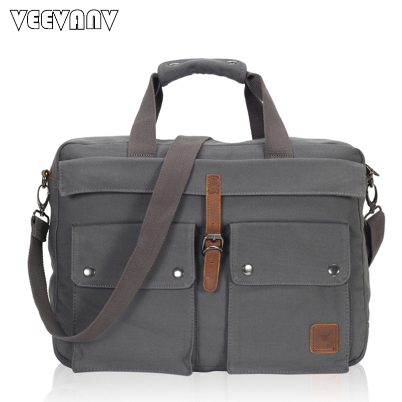 2017 Fashion Men Messenger Bags Business Handbag Shoulder Bag Vintage Canvas Travel Briefcase Laptop Crossbody Bag Men's Postman vintage crossbody bag dark khaki canvas shoulder bags men messenger bag man casual handbag tote business briefcase for computer