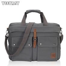 2017 mode Männer Messenger Bags Handtasche Schultertasche Tasche Vintage Leinwand Reise Aktentasche Laptop Umhängetasche männer Briefträger