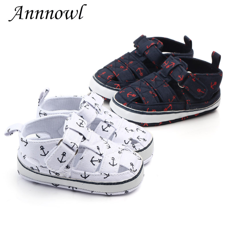 Annnowl Toddler Baby Girls Sandals Breathable Mesh Anti-Skid Rubber Sole Boys Shoes