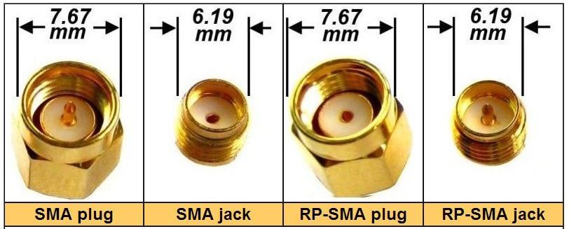 FPV 1.2g / 2.4g / 5.8g VTX / RX anten uzatma kabeli rp-sma üçün - Kamera və foto - Fotoqrafiya 3