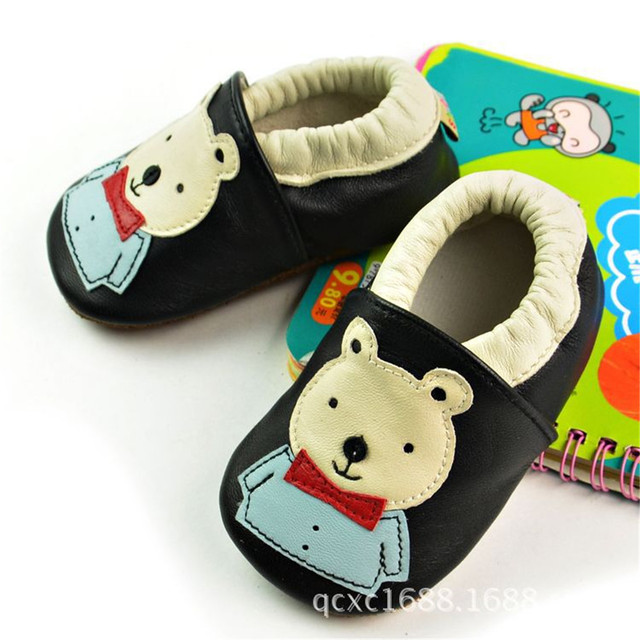 2016 New cartoon Genuine Leather kids shoes baby Moccasins Soft fringe Shoes girls Infant Newborn first walker Anti-slip Shoes