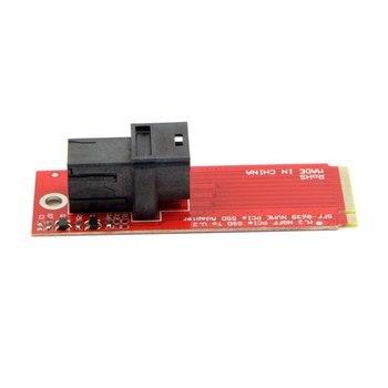 100PCS/U.2 U2 Kit SFF-8639 NVME PCIe SSD Adapter for Mainboard Intel SSD 750 p3600 p3700 M.2 SFF-8643 Mini SAS HD