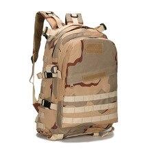 Excelente calidad 3D Deporte Al Aire Libre Táctico Militar Mochila Bolsa mochila para Acampar Viajar Senderismo Trekking