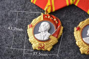 Najwyższa jakość CCCP Orden Lenina zsrr Order Lenina przed zsrr Medal wojskowy rosja dekoracja wojskowa CCCP osoba Go tanie i dobre opinie Europa Patriotyzmu Metal