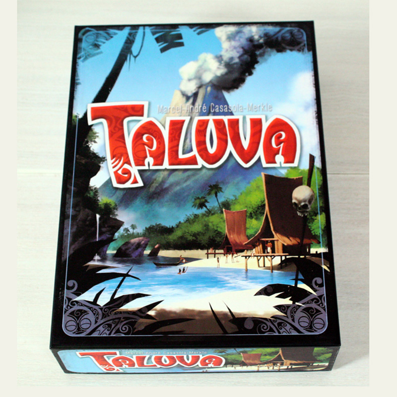 Taluva Board Game 2-4 Players Cards Game Classic Tactics Games Send English Instructions For Friends Family Party Entertainment castles of burgundy board game 2 4 players cards games send english instruction funny game for party family with free shipping