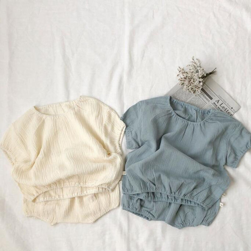 3a96364dbace0 US $12.34 5% OFF|2019 New Baby Clothing Set Cool Linen Shirts and PP shorts  Sets Summer Boys Clothes Sets-in Clothing Sets from Mother & Kids on ...