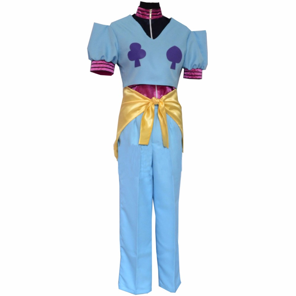 2018 New Style Hunter X Hunter Hisoka Cosplay Costume Custom Made